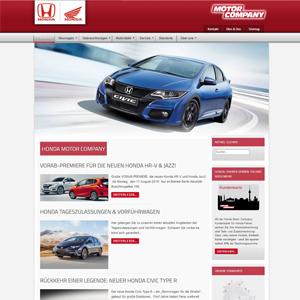 Joomla Website für Toyota
