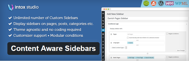 Wordpress Plugin Content Sidebars
