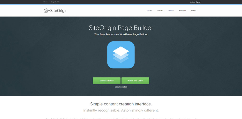 SiteOrigin Page Builder WordPress