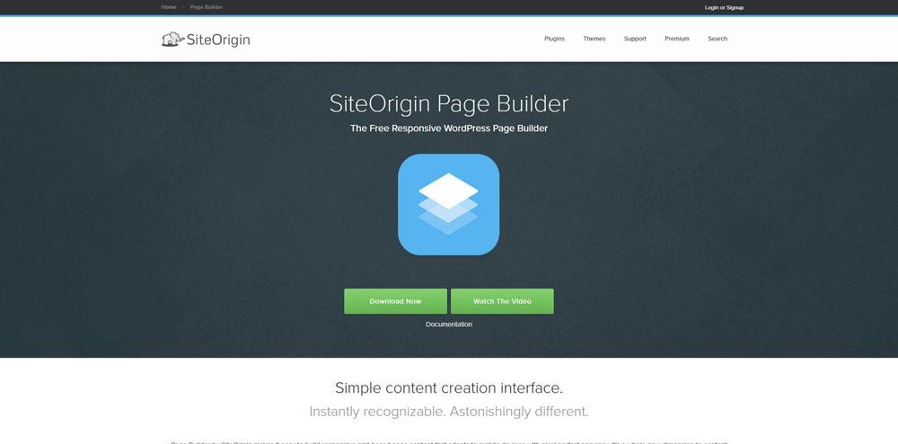 SiteOrigin Page Builder WordPress